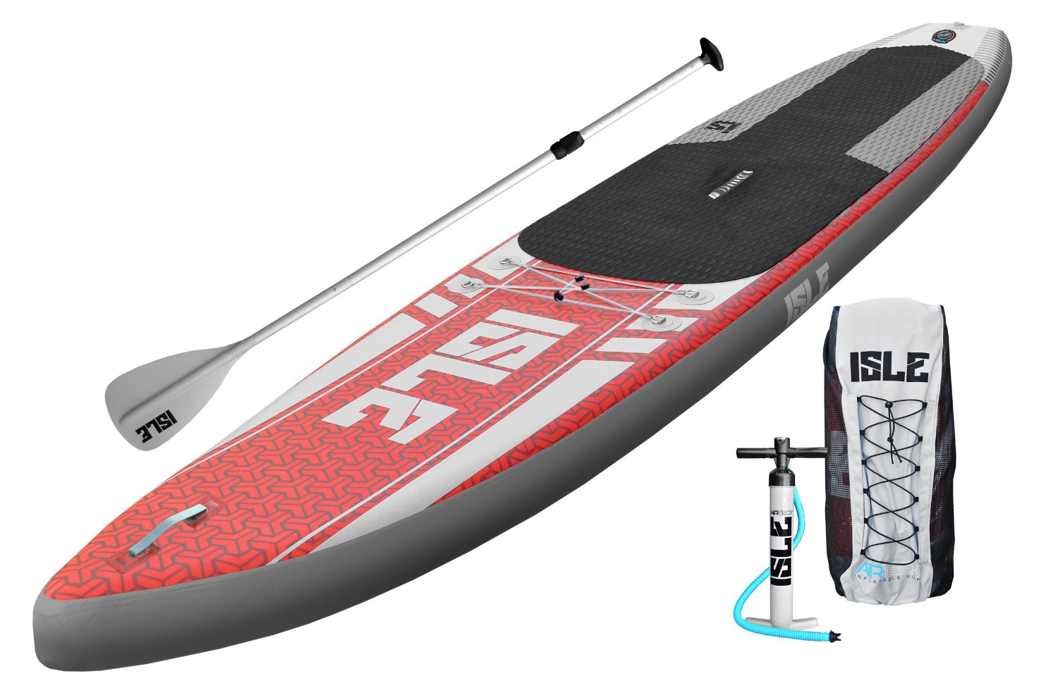 Isle Airtech 12'6 Inflatable Stand up Paddle Board Package