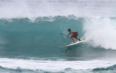 stand up paddle surfing in Maui