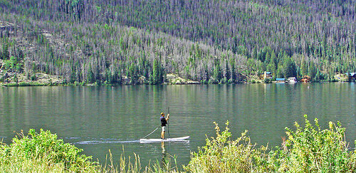 touring stand up paddle board