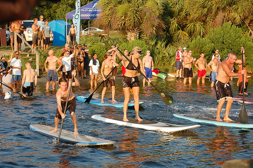 racing stand up paddle board
