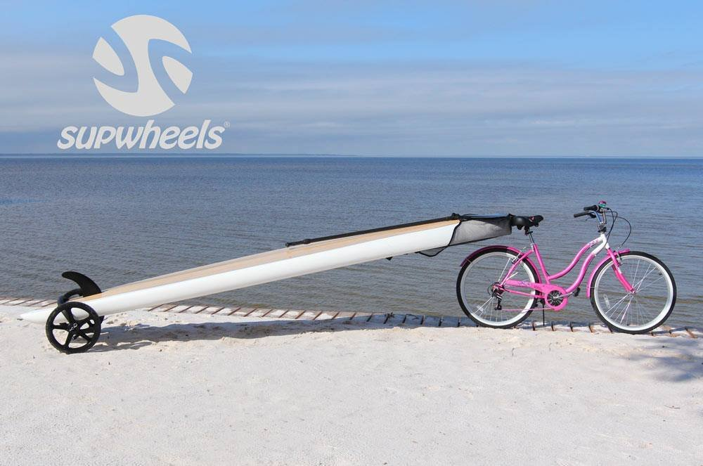 SUP Wheels Evolution paddle board carrier