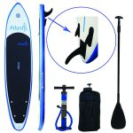 Atlantis Paddle Boards 10' inflatable stand up paddle board package black friday deal
