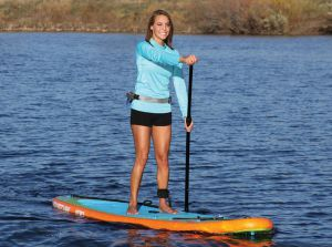 the sportsstuff 1030 adventure the PEAK iSUP made our list of the best inflatable stand up paddle boards