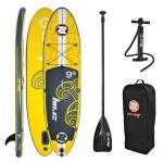 z-ray x1 inflatable stand up paddle board package review