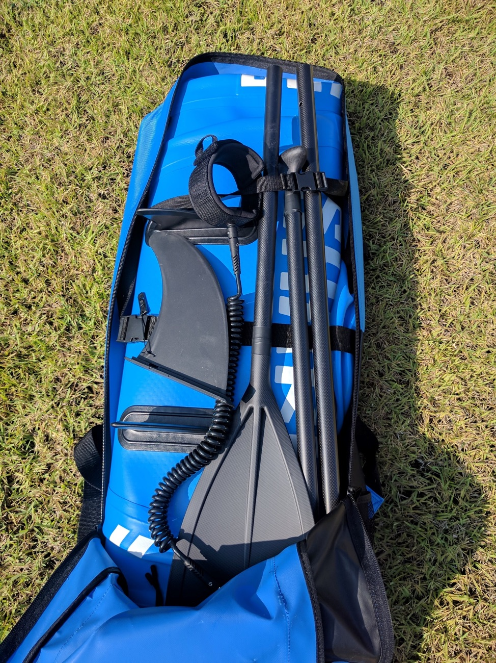 Shark Isup Backpack Bag Inflatable Stand Up Paddle Board