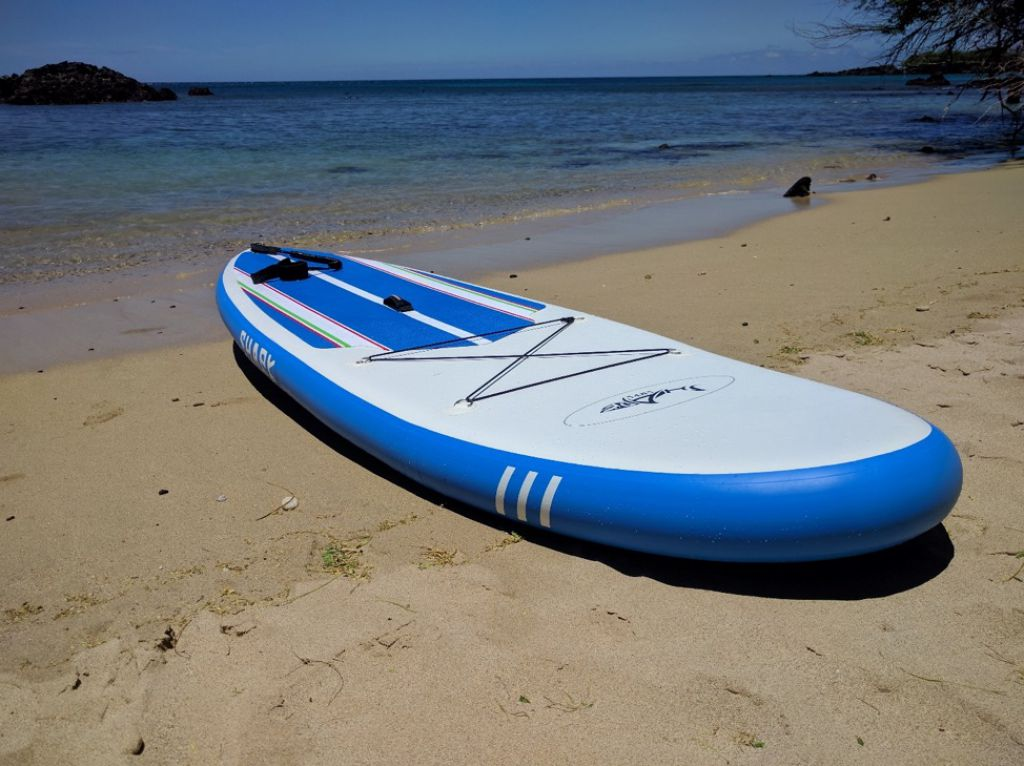 shark isup paddle board