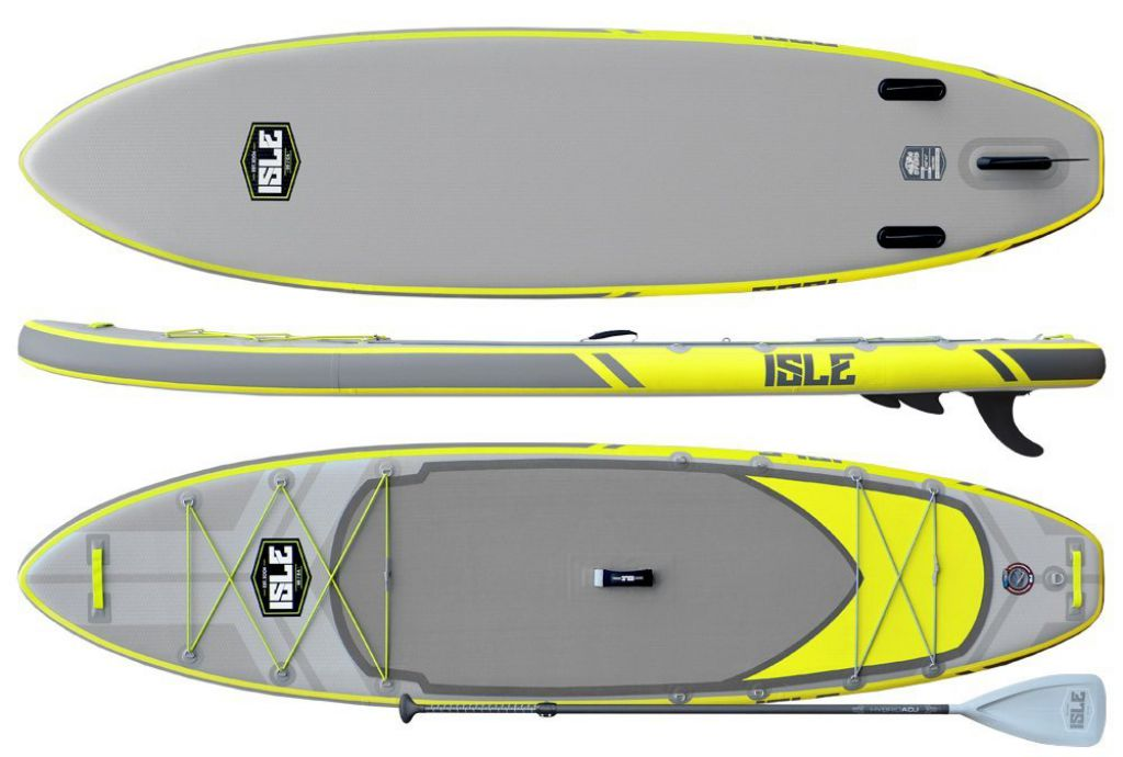 isle airtech explorer board review yellow